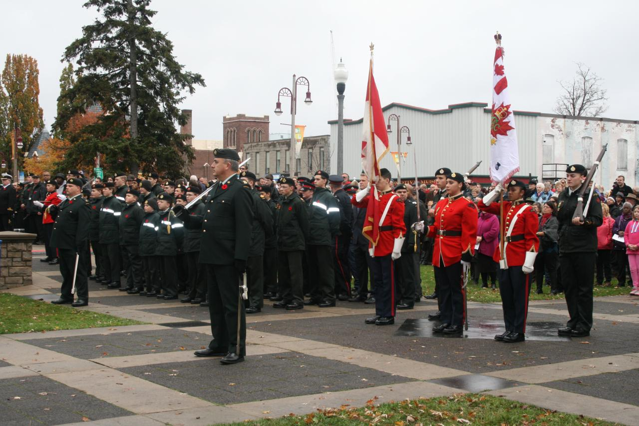 1913 Ontario Regiment Royal Canadian Army Cadet Corps
